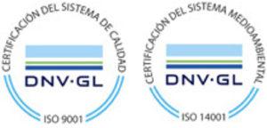 Certificaciones ISO 9001:2008 y 14001:2004