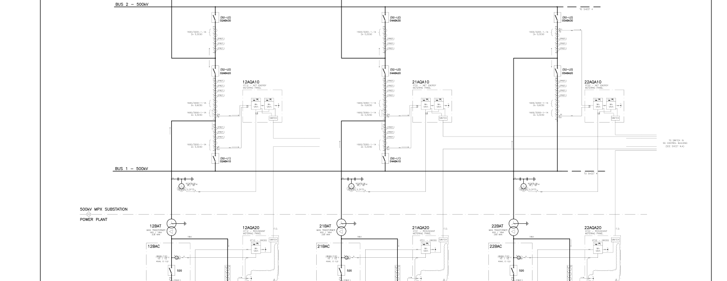 Plano Ingeniería Electricidad