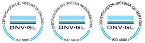 Certificaciones ISO EIA21